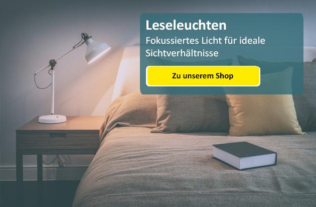 Schlafzimmerbeleuchtung - von Leselampe bis ...