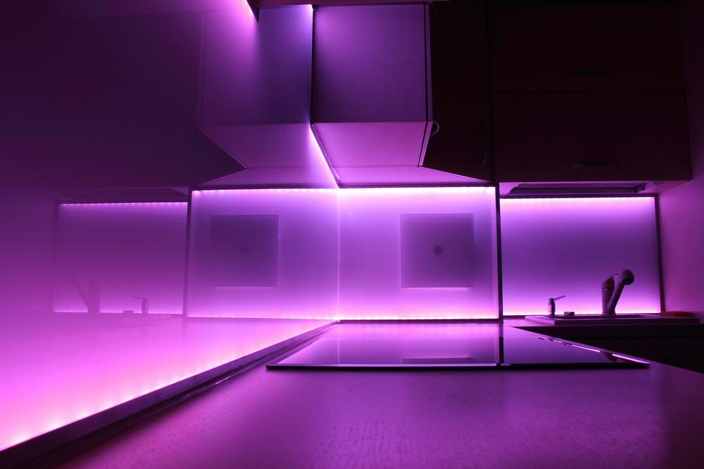 LED Leuchten Mit Farbwechsler