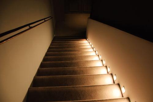 Beleuchtung Treppe beleuchtung für treppen sicherheit bei jedem schritt le magazin