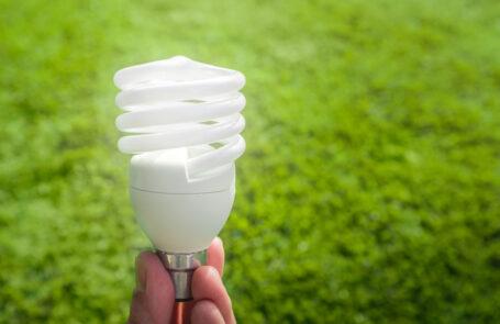 Energiesparlampe und LED