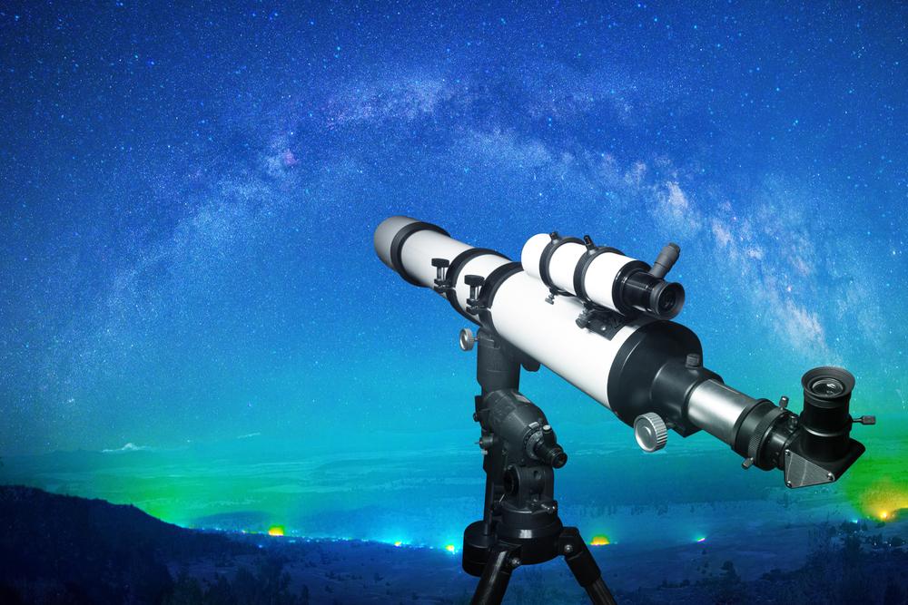 Optische teleskope: einblicke in die weiten des universums lampe