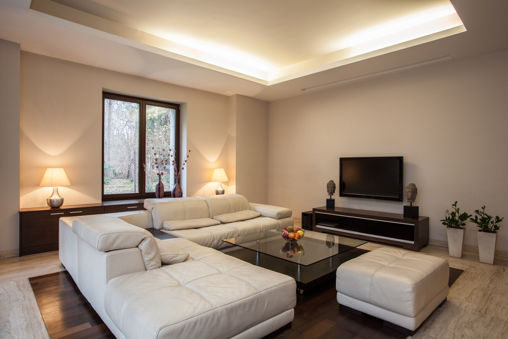 Mit voutenleuchten stimmung schaffen lampe magazin - Beleuchtungssysteme wohnzimmer ...