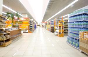 Supermarkt Beleuchtung
