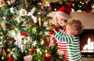 Lichterkette Weihnachten Tannenbaum