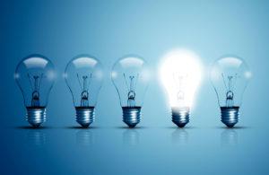 Elektrisches Licht Glühbirne