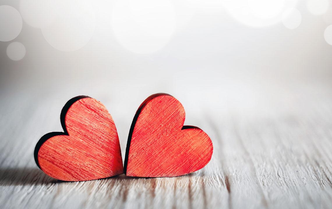 Schön Herzen Schenken Am Valentinstag