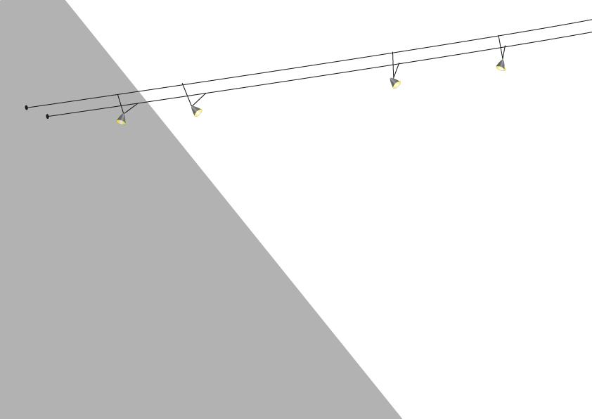 dachschr gen ausleuchten 7 tipps f r beleuchtung im dachgeschoss. Black Bedroom Furniture Sets. Home Design Ideas