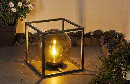 Albuquerque Solarleuchte : Energiesparende Leuchte für die Terrasse oder den Garten