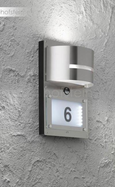 beleuchtung hausnummer hausnummer mit beleuchtung with beleuchtung hausnummer simple sidco. Black Bedroom Furniture Sets. Home Design Ideas