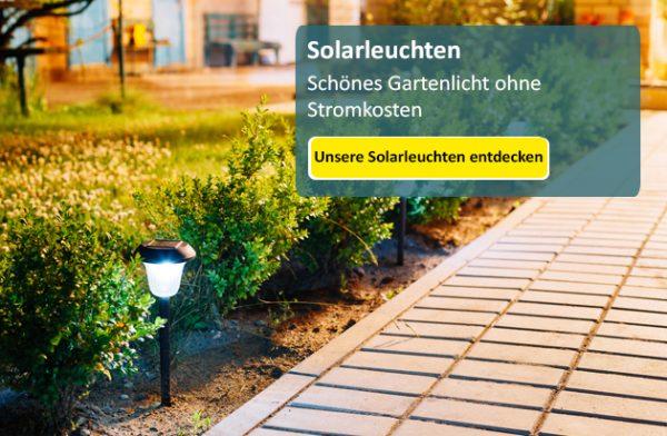 solarlampen eine zukunftsweisende entwicklung lampe magazin. Black Bedroom Furniture Sets. Home Design Ideas