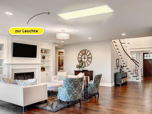 FLAT Deckenleuchte für das Wohnzimmer