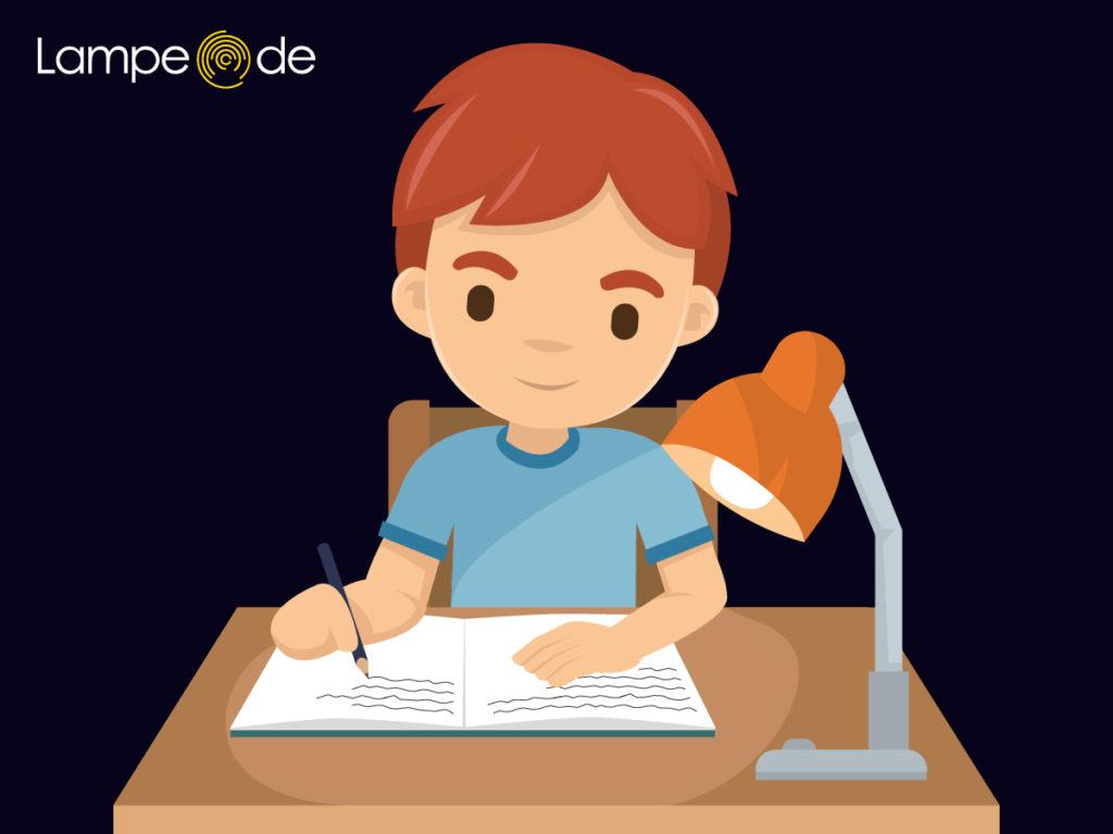 Schreibtischlampen für Rechtshänder