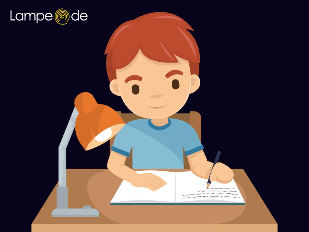 Schreibtischlampen für Linkshänder
