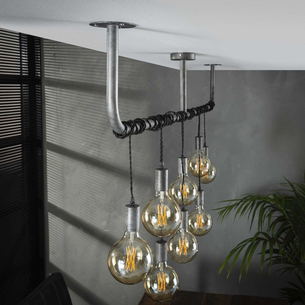 Glühbirnen Lampen mit beeindruckenden Glühfäden  Lampe Magazin