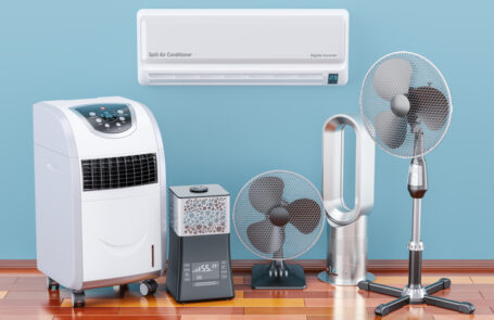 Deckenventilator oder Klimaanlage
