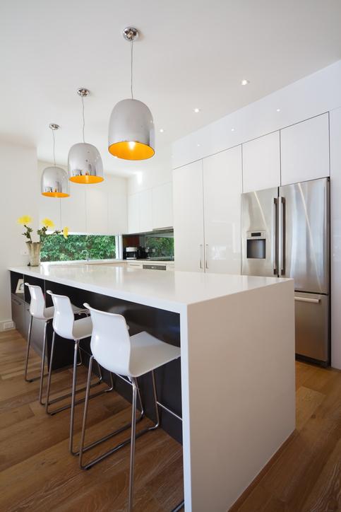 kücheninsel beleuchtung ideen und tipps  lampe magazin