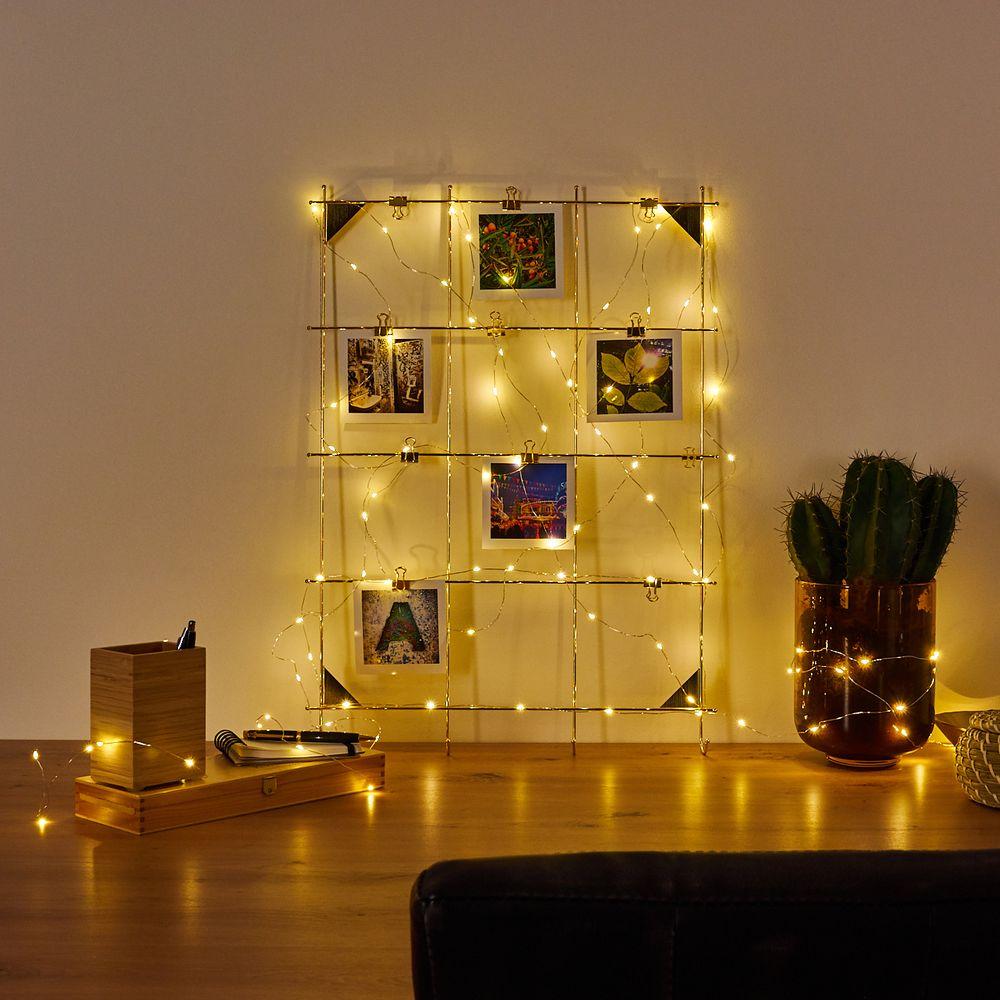 Lichterketten Deko: Beleuchtungsideen mit Lichterketten  Lampe