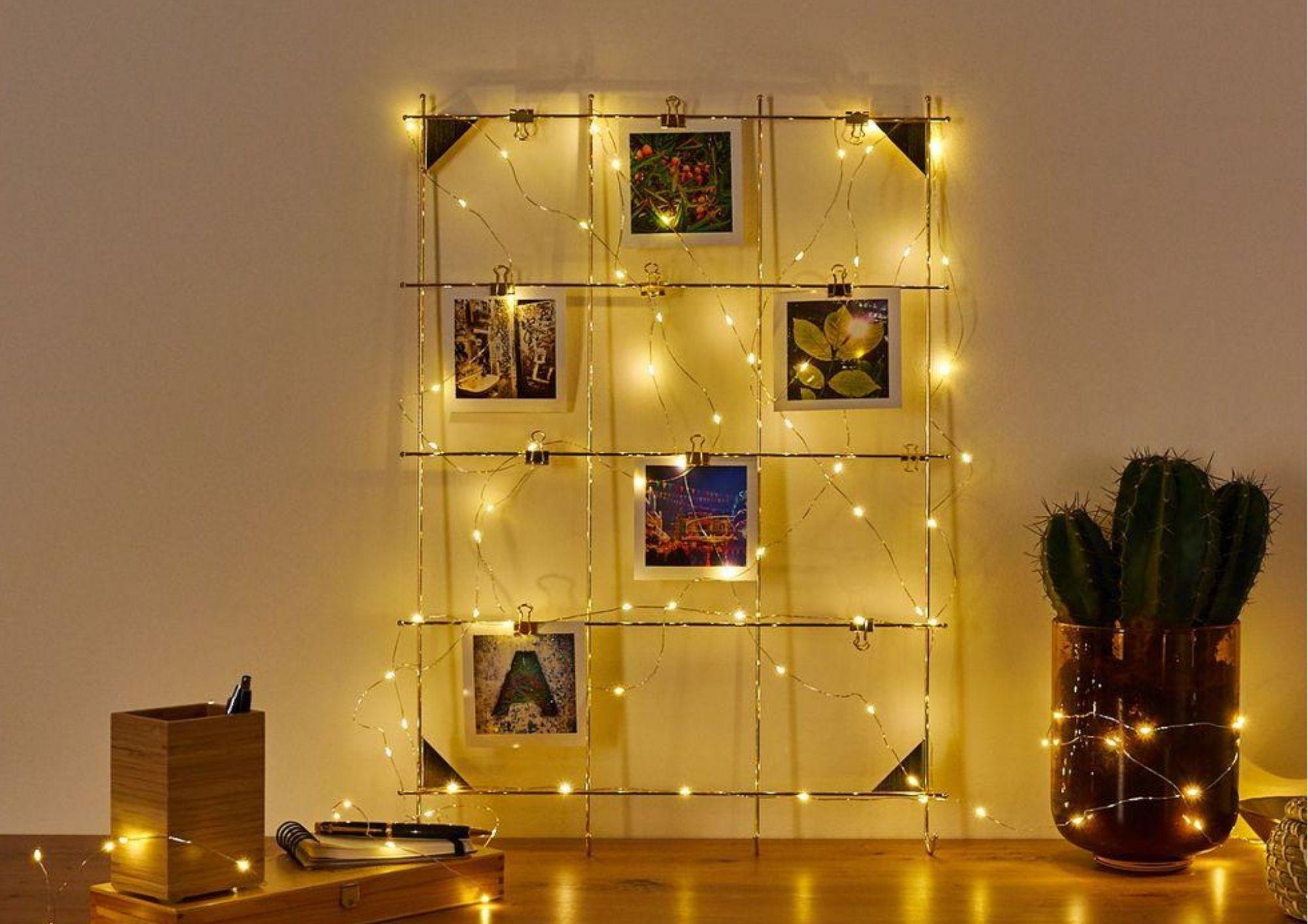 Lichterketten Deko Beleuchtungsideen Mit Lichterketten Lampe Magazin