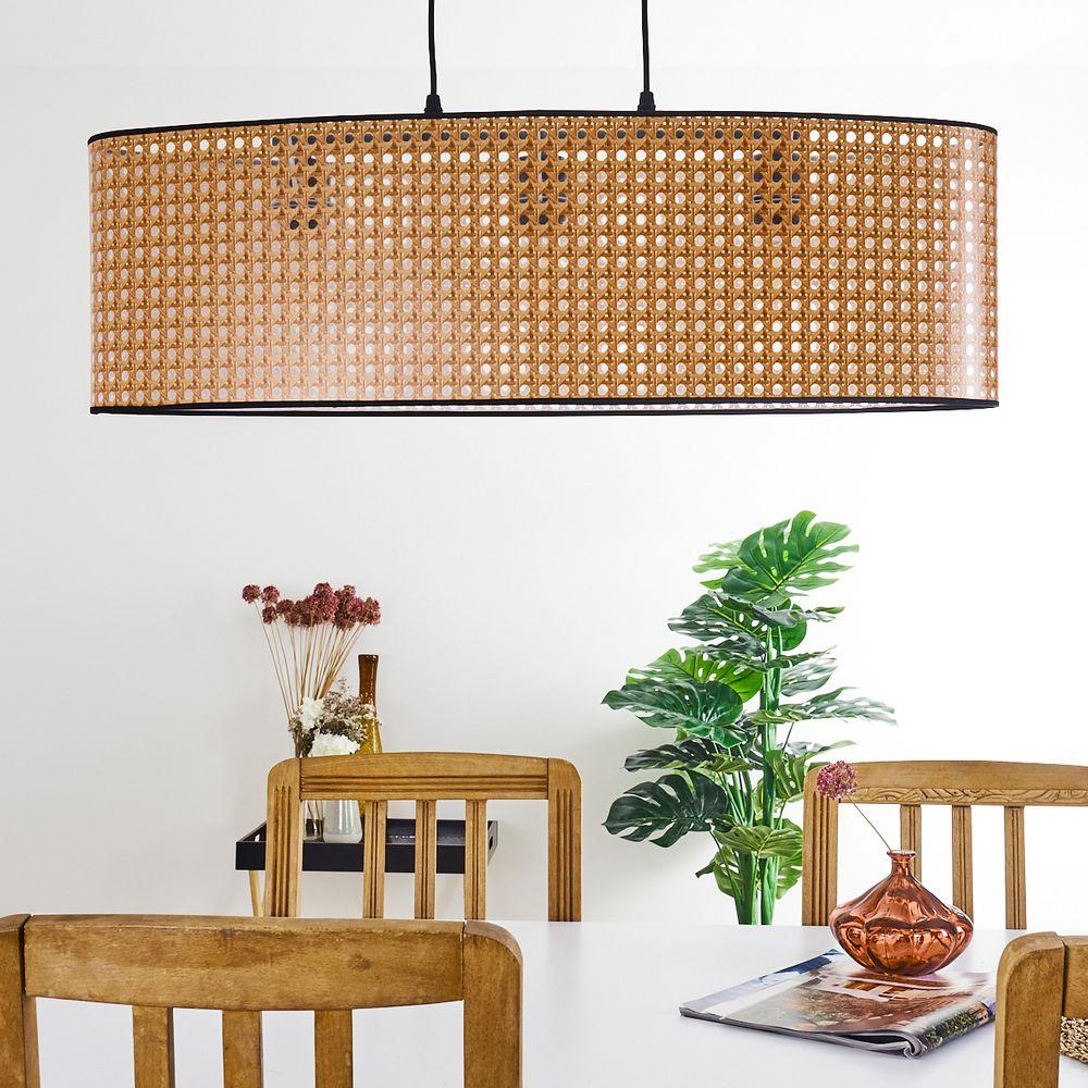 Rattanlampen und Korblampen: Beleuchtung im Boho Style