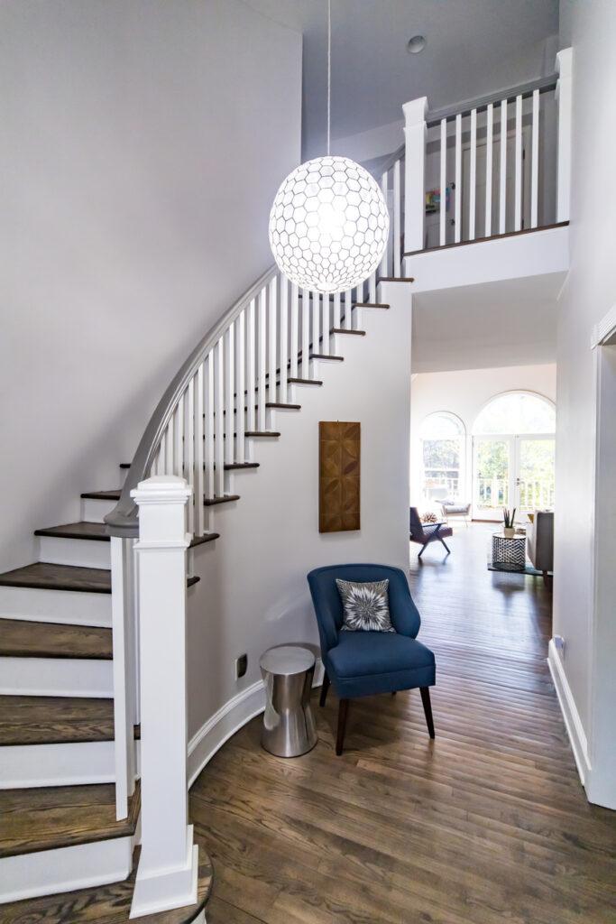 Pendelleuchte Treppe