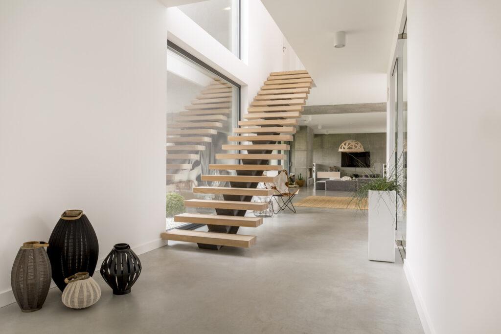 Freistehende Treppe