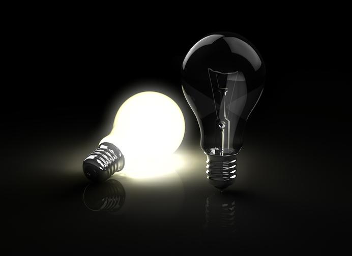 Warum glimmen LEDs nach?
