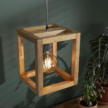 Siddeburen Pendelleuchte Holz dunkel, 1-flammig