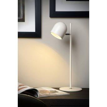 Lucide SKANSKA Tischleuchte LED Weiß, 1-flammig