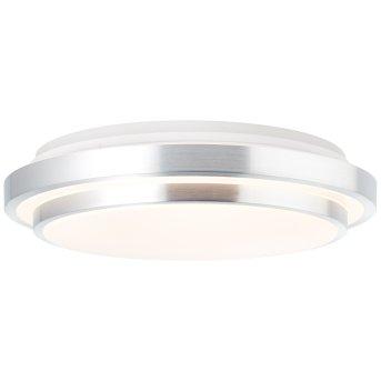 Brilliant Vilma Deckenleuchte LED Silber, Weiß, 1-flammig, Fernbedienung, Farbwechsler