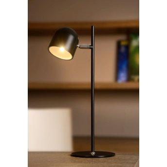 Lucide SKANSKA Tischleuchte LED Schwarz, 1-flammig