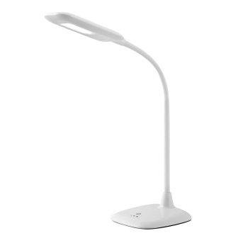 Brilliant Leuchten Nele Tischleuchte LED Weiß, 1-flammig