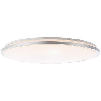 Brilliant Jamil Deckenleuchte LED Silber, Weiß, 1-flammig, Fernbedienung