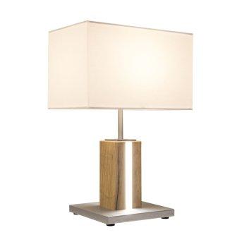 Nino Leuchten FOREST Tischleuchte LED Holz hell, 2-flammig
