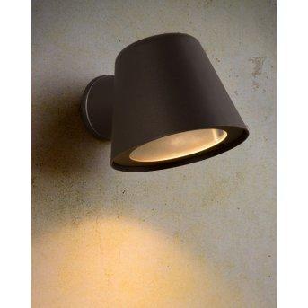 Lucide DINGO-LED Außenwandleuchte Schwarz, 1-flammig
