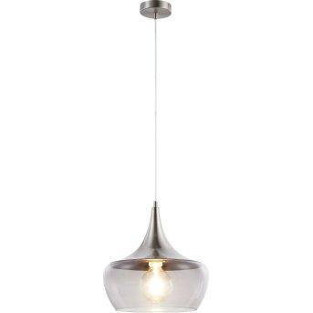 Nino Leuchten AROLA Pendelleuchte Grau, 1-flammig
