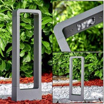 Watford Sockelleuchte LED Anthrazit, 1-flammig
