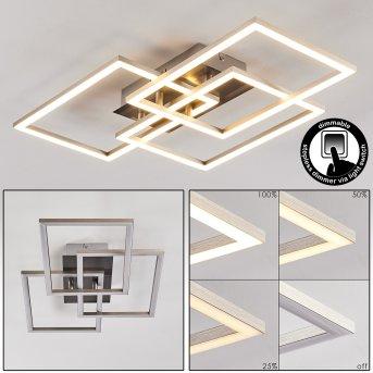 Cheka Deckenleuchte LED Aluminium, 3-flammig