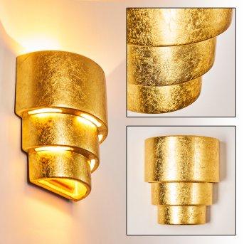 Karatschi Wandleuchte Gold, 1-flammig