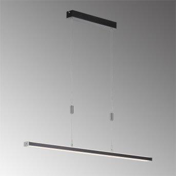 Fischer & Honsel Vitan TW Pendelleuchte LED Schwarz, 1-flammig