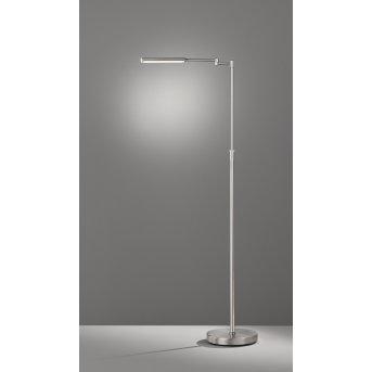 Fischer & Honsel Nami Stehleuchte LED Nickel-Matt, 1-flammig