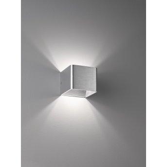 Fischer & Honsel Dan Wandleuchte LED Aluminium, 1-flammig