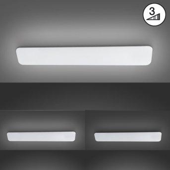 Fischer & Honsel Aldo Deckenleuchte LED Weiß, 1-flammig