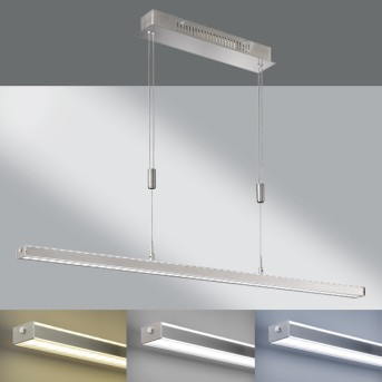 Fischer & Honsel Vitan TW Pendelleuchte LED Nickel-Matt, 1-flammig