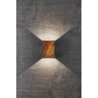 Nordlux FOLD Außenwandleuchte LED Grau, 2-flammig
