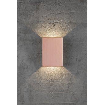 Nordlux FOLD Außenwandleuchte LED Kupfer, 2-flammig