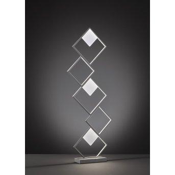 Wofi Jade Stehleuchte LED Grau, 1-flammig