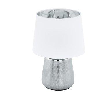 Eglo MANALBA Tischleuchte Silber, 1-flammig