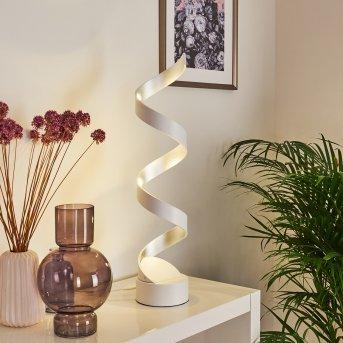Pitasch Tischleuchte LED Weiß, 1-flammig