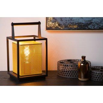 Lucide SANSA Tischlampe Schwarz, 1-flammig
