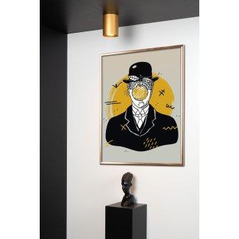 Lucide TUBE Deckenstrahler Messing, Gold, 1-flammig